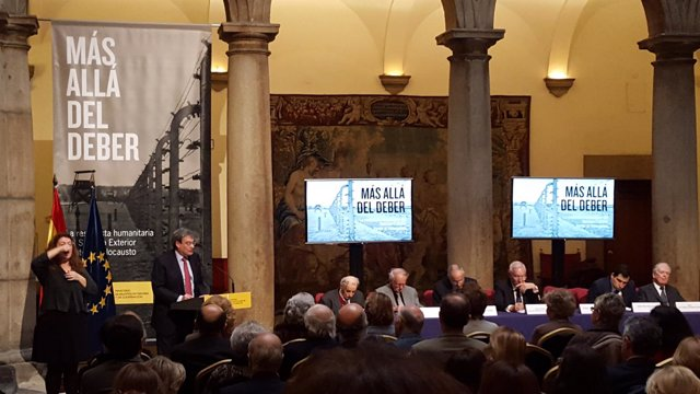 José Manuel García-Margallo en la presentación del libro 'Más allá del deber'