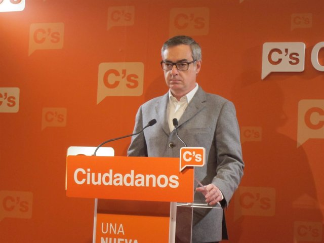 El diputado de C's en el Congreso, José Manuel Villegas