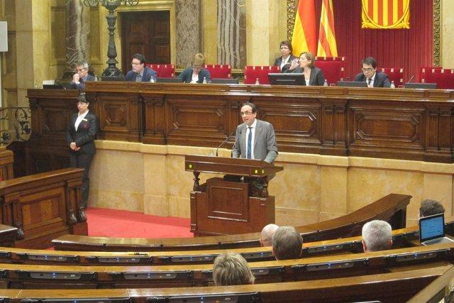 El Conseller De Territorio De La Generalitat, Josep Rull