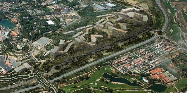 La Generalitat mantiene el límite de suelo residencial de BCN World