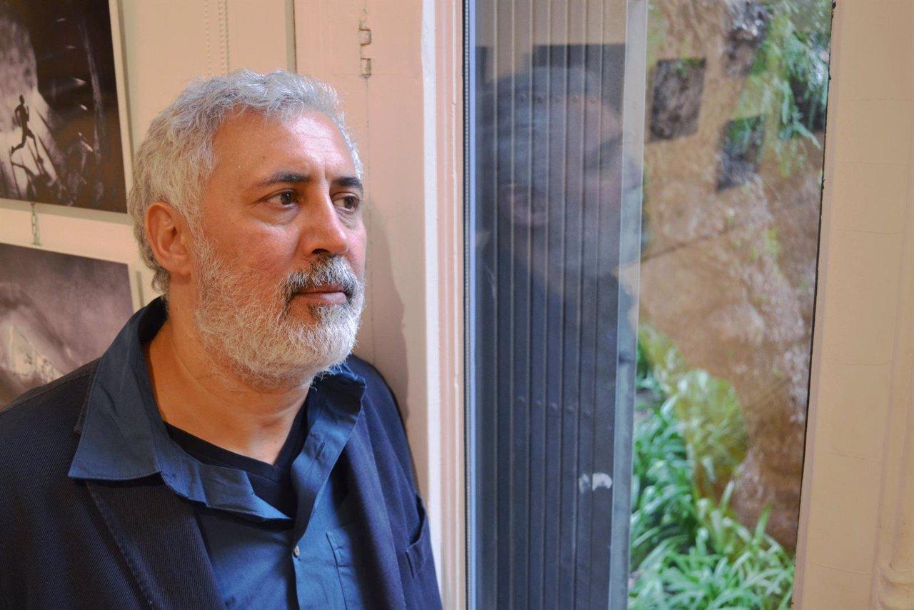 El escritor Francesco Piccolo en su visita a Barcelona