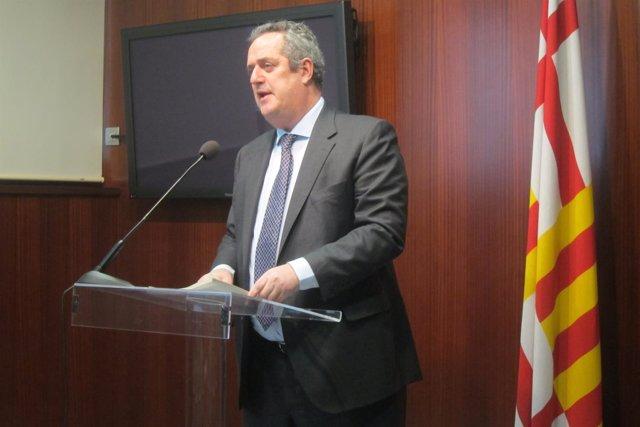 El portavoz de CiU en el Ayuntamiento de Barcelona, Joaquim Forn