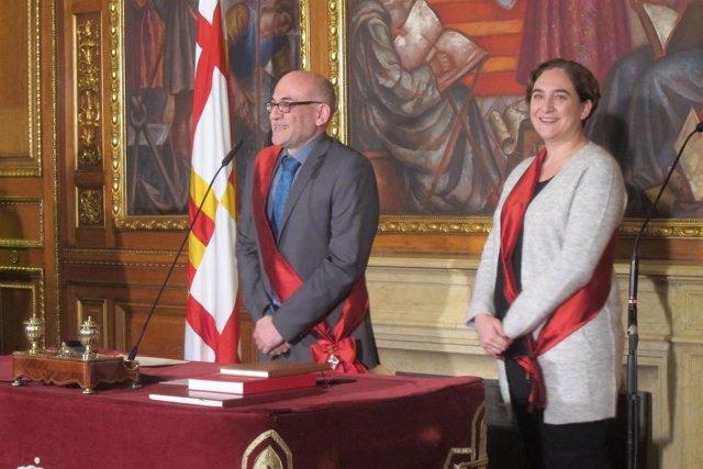 Koldo Blanco (C's) toma posesión como concejal de Barcelona