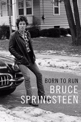 Portada de la autobiografía de Springsteen 'Born to run'