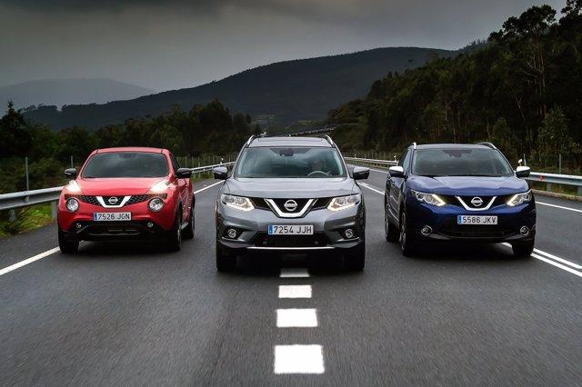 Gama crossover de Nissan