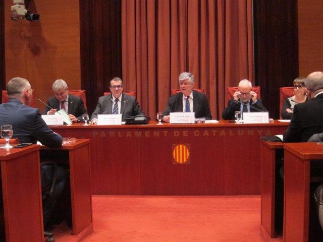 El conseller de Interior Jordi Jané comparece en comisión (Parlament)