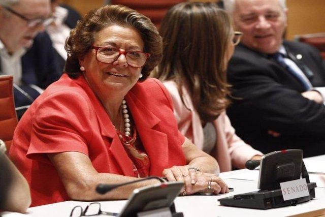 Rita Barberá seguirá aforada, aún con elecciones