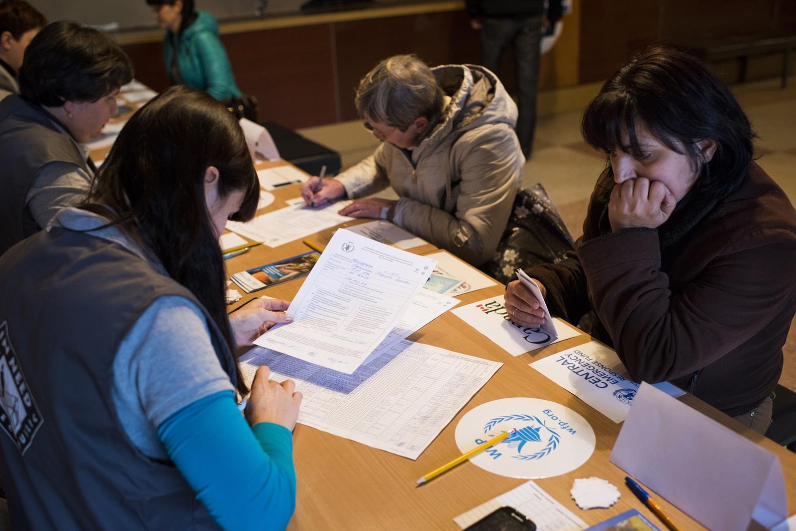 Trabajo del PMA en el este de Ucrania