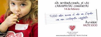 'Menudos Corazones' celebra el Día Internacional de las Cardiopatías Congénitas