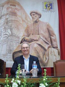 Juan Pablo Durán en el IES Maimónides de Córdoba