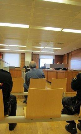 Juicio a un acusado de matar a un minusválido