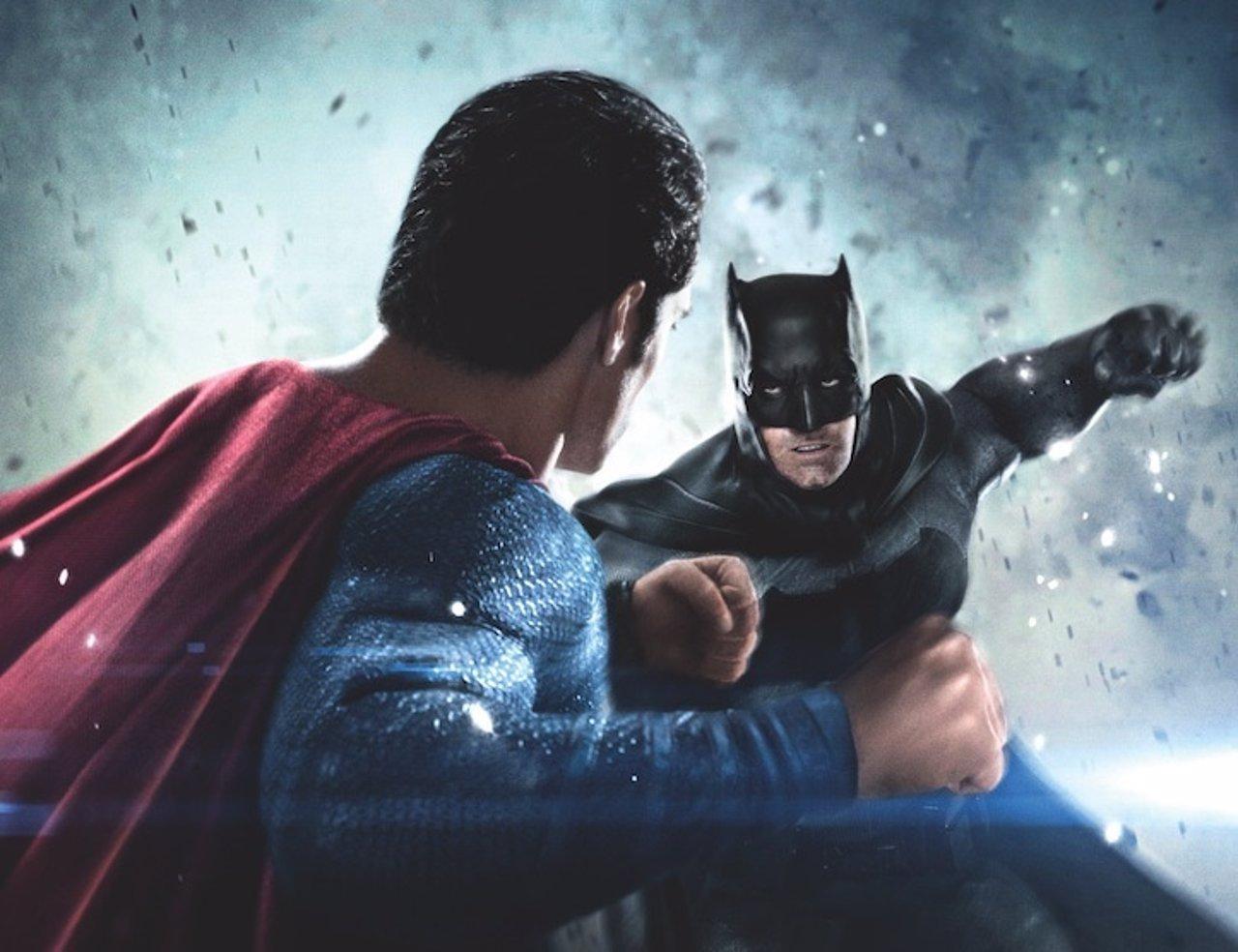 Batman y Superman se enfrentan en El Amanecer de la Justicia.
