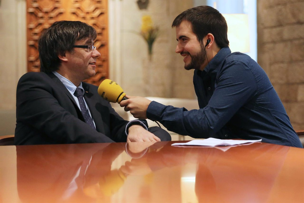 C.Puigdemont y R.Ustrell