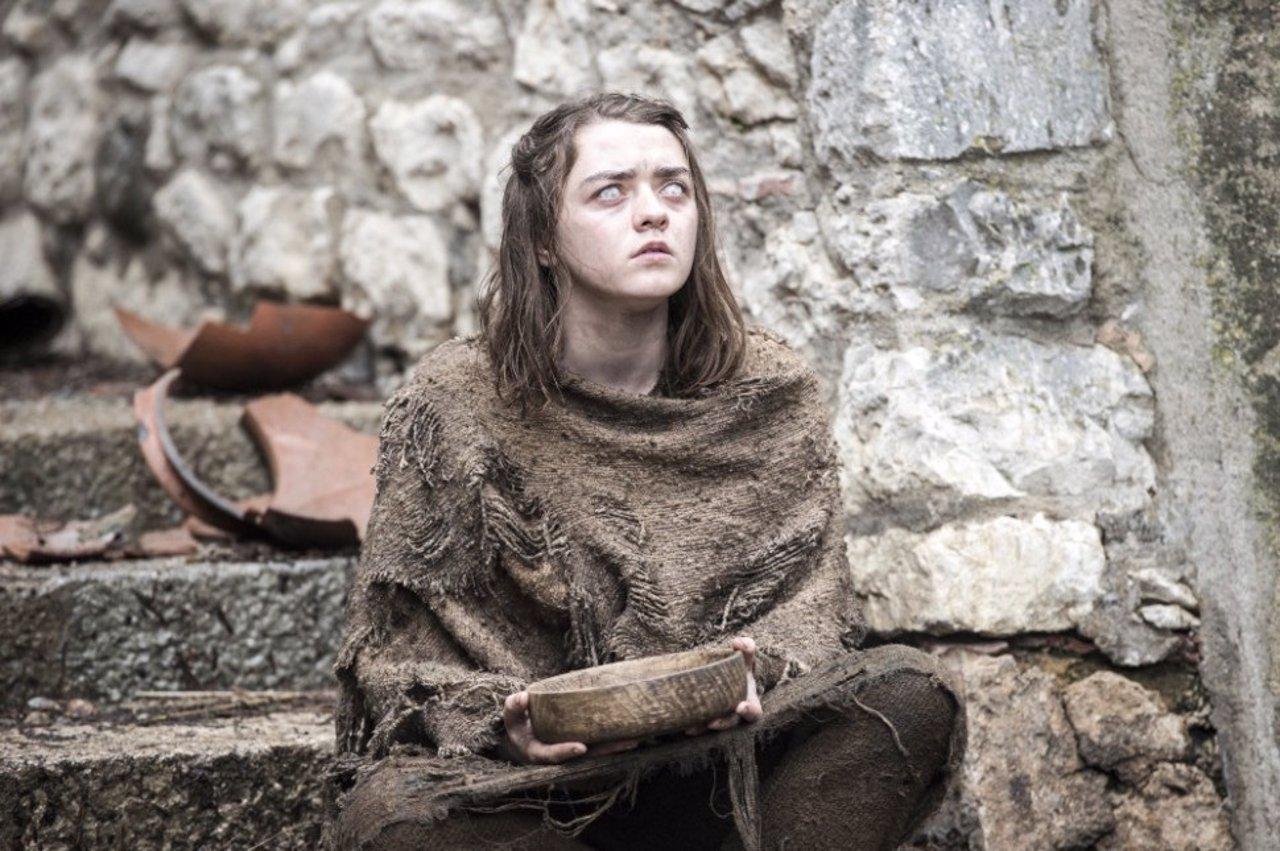 Arya Stark en la 6ª temporada de Juego de tronos