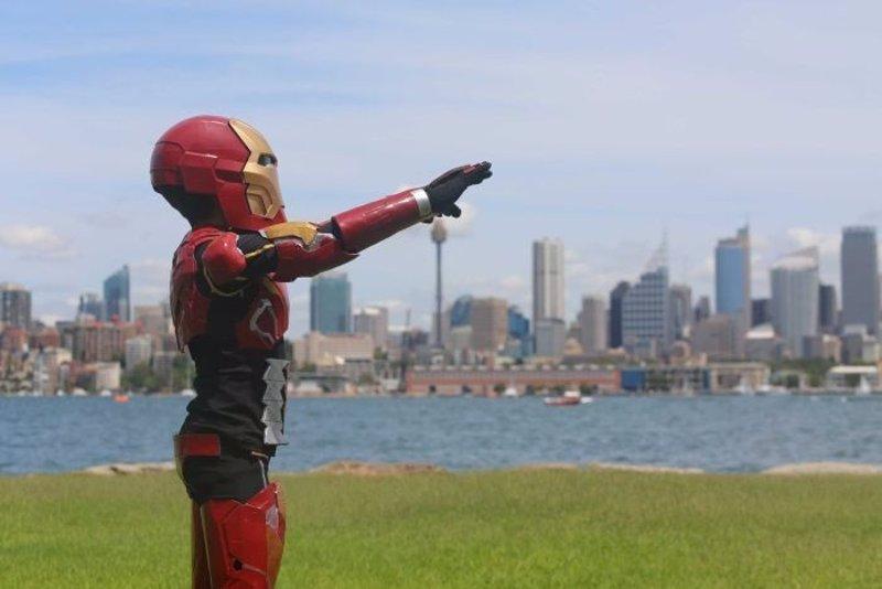 Robert Downey Jr. nombra Vengador de Honor a un niño enfermo