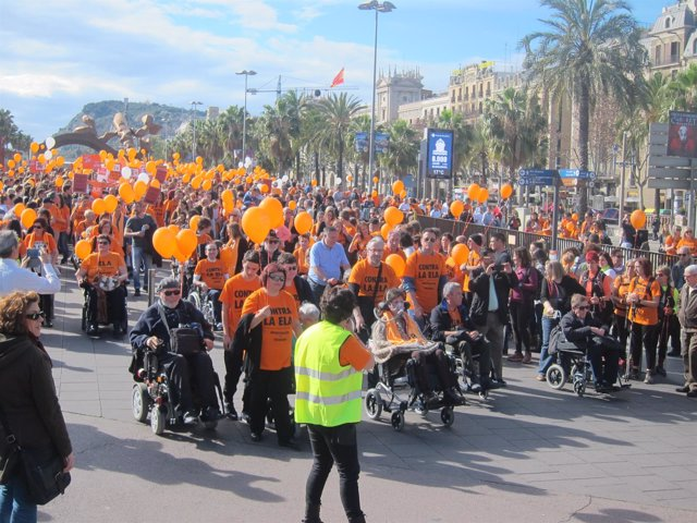 II Caminata contra la ELA en Barcelona