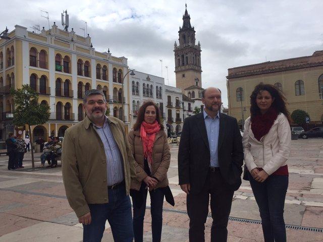 El coordinador de la Interparlamentaria del PSOE-A en Écija (Sevilla)