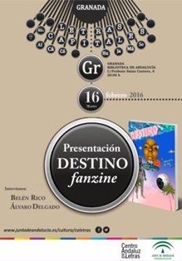 El artista Álvaro Delgado presenta su fanzine Destino