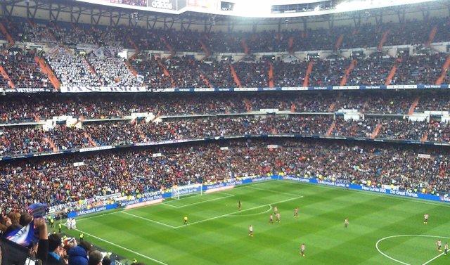 Santiago Bernabéu grada interior Real Madrid Athletic