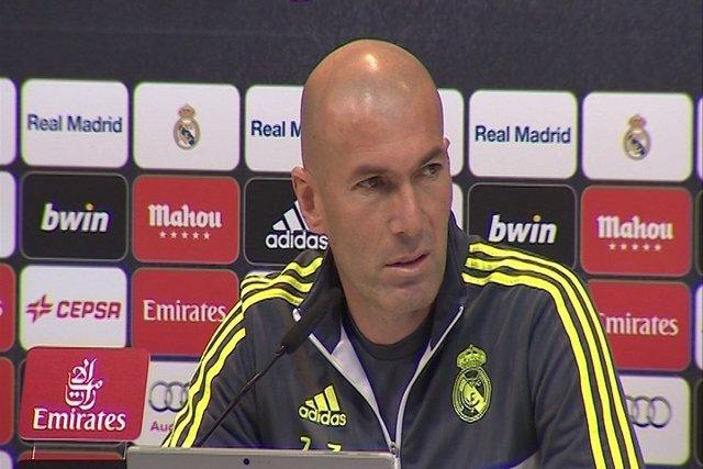 """Zidane: """"La sanción me parece absurda"""""""