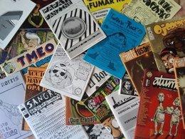 Expositores de fanzines