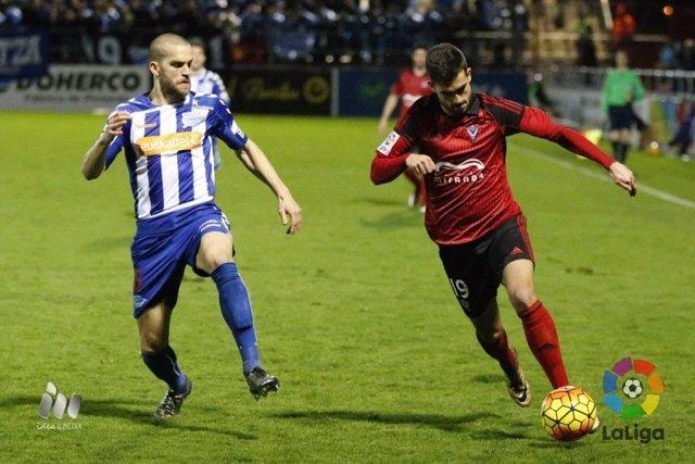 El Alavés y el Mirandés empatan sin goles en Anduva