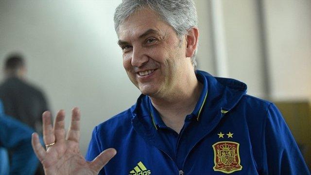 El seleccionador español de fútbol sala José Venancio López