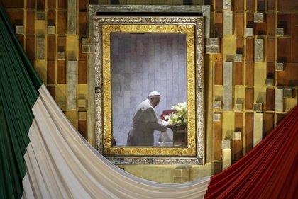 El Papa concluye su primer día en México con una visita a la Virgen de Guadalupe