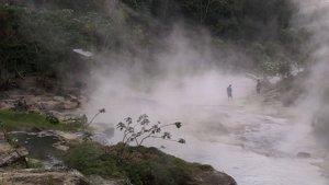 Río Hirviente de Perú
