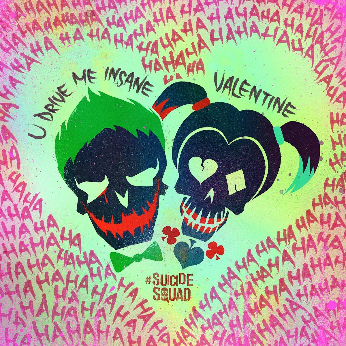 Suicide Squad Asi Celebraron Joker Y Harley Quinn San Valentin