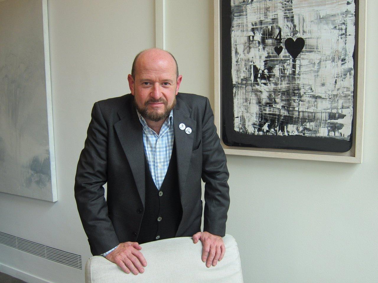 El direcrtor de ARCOmadrid, Carlos Urroz
