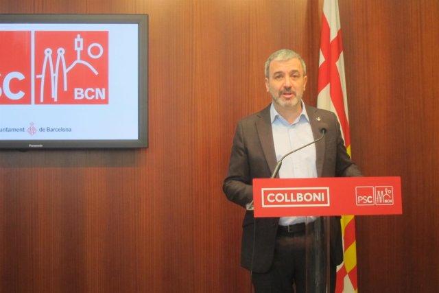 Jaume Collboni (PSC de Barcelona)