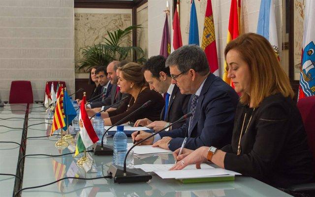 El consejero Guillén en el Foro de CCAA con Desafíos Demográfico