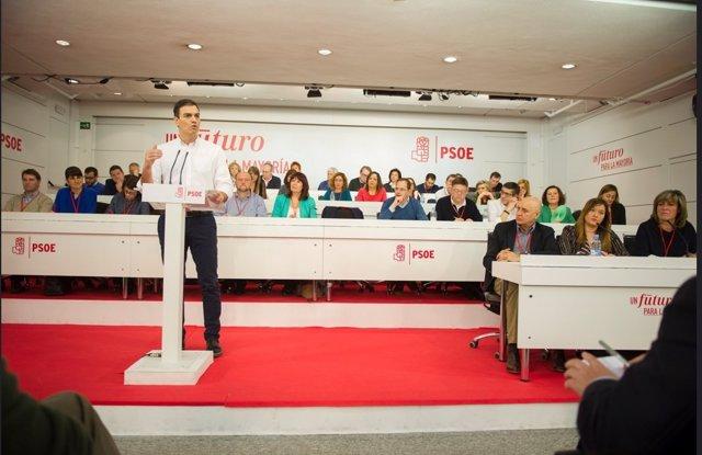 Pedro Sánchez Comité Federal del PSOE