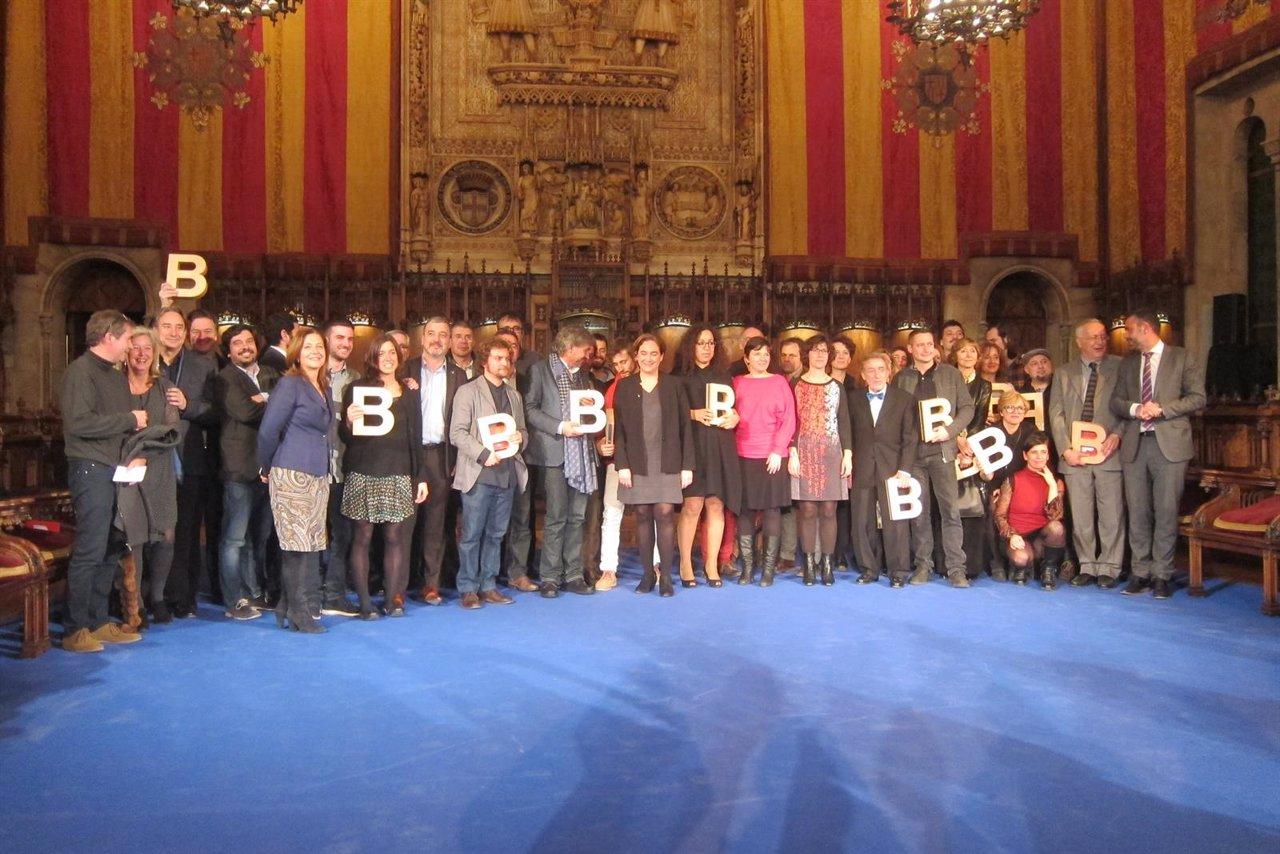 Galardonados de los Premis Ciutat de Barcelona