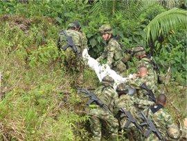 Mueren dos policías en un ataque de las ELN en Nariño