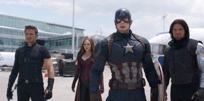 Capitán América Civil War: El equipo de Steve Rogers en acción en el nuevo cartel