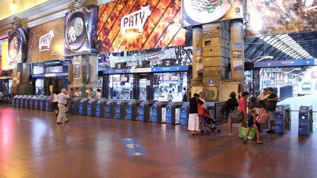 Ticketing en estación de Buenos Aires
