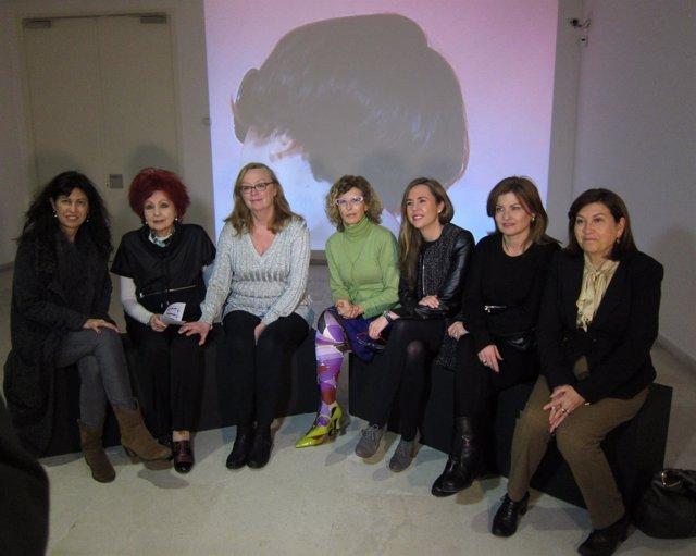 Las coleccionistas, Cristina Fontaneda y las concejalas del Ayuntamiento