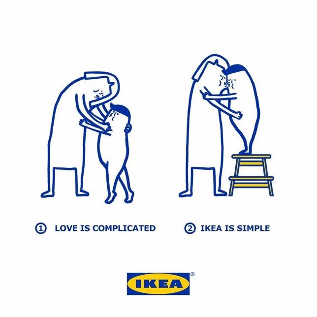 Campaña de San Valentín 2016 de Ikea