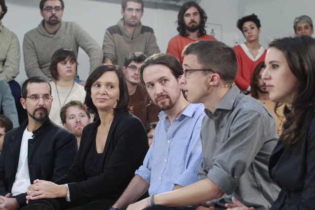 Presentación de la campaña de Podemos