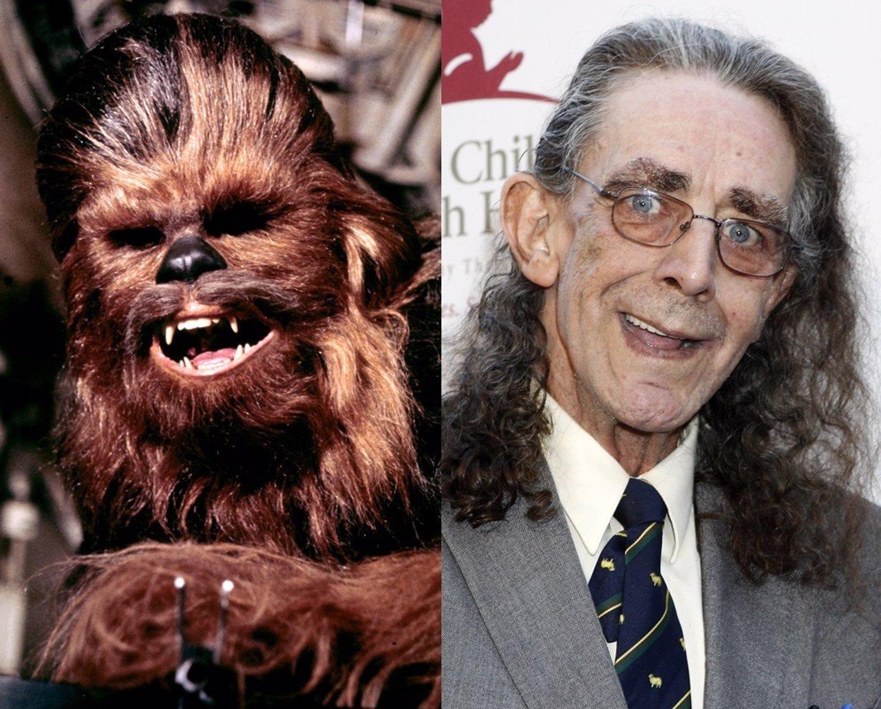 Peter Mayhew, el actor que da vida a Chewbacca
