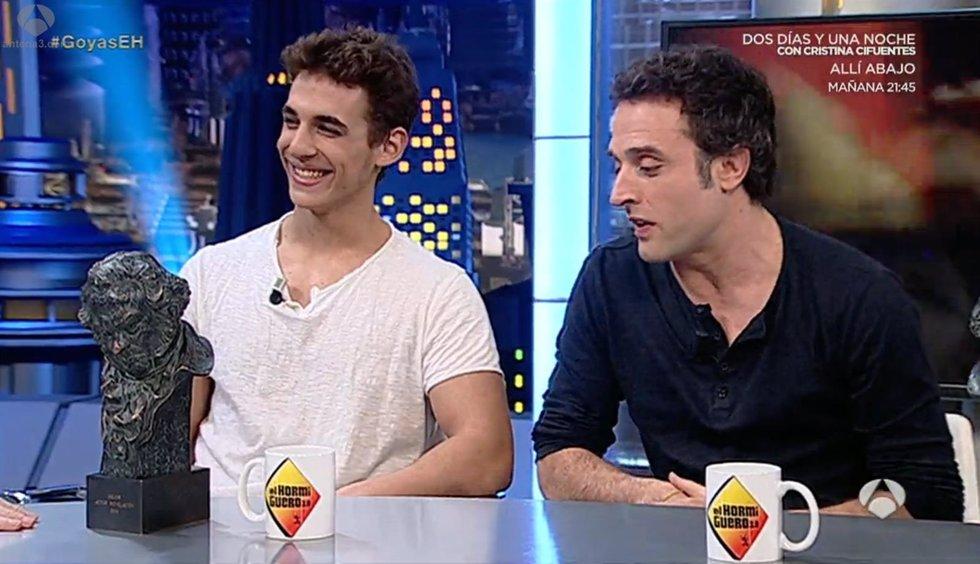 Daniel Guzman y Miguel Herran en El Hormiguero