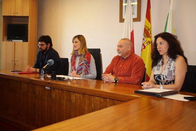 Rueda de prensa de PSOE, PRC, C's e IU en el Ayto de Piélagos