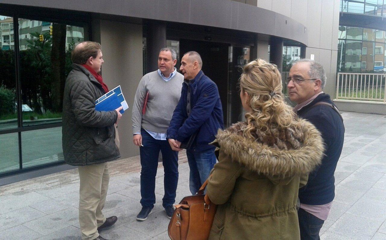 Comité de empresa Limasa Manuel Belmonte y Luis Medina-Montoya