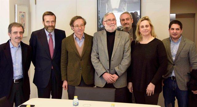Reunión del consejero y el secretario de Estado de Cultura en Madrid