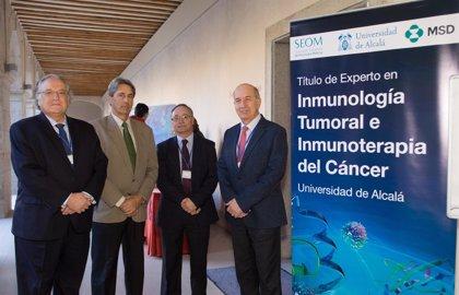 La Universidad de Alcalá y MSD crean el curso 'Inmunología Tumoral e Inmunoterapia del Cáncer'