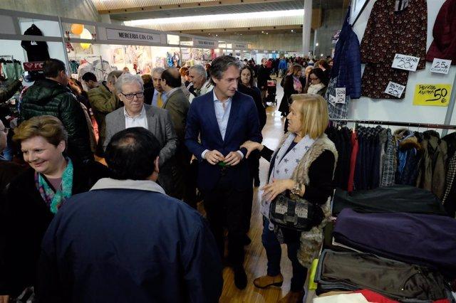 Inauguración de la Feria del Stock de Santander