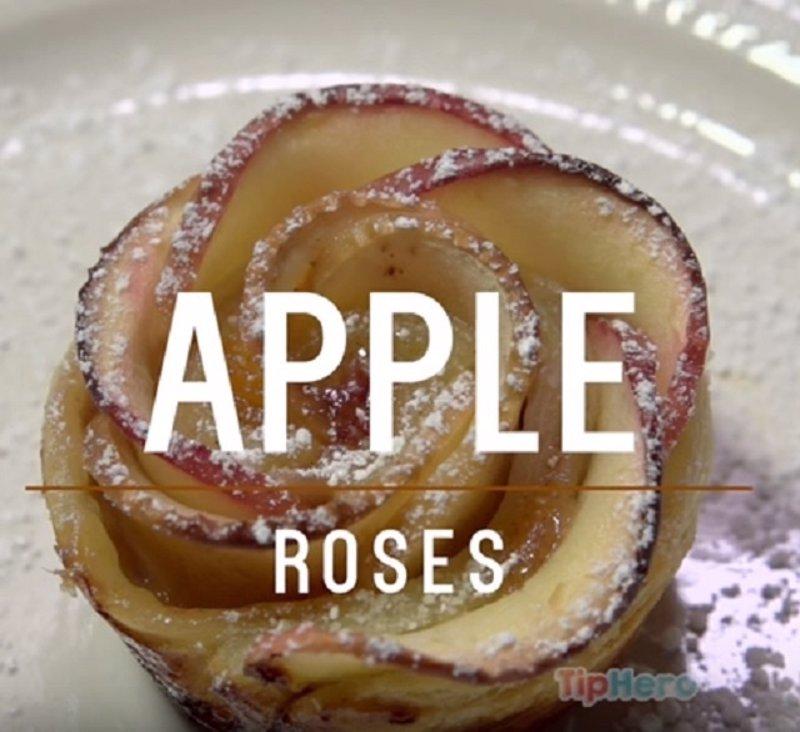 La auténtica receta viral de tarta de manzana con hojaldre