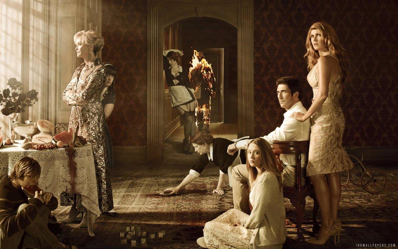 El reparto de la 1º temporada de American Horror Story